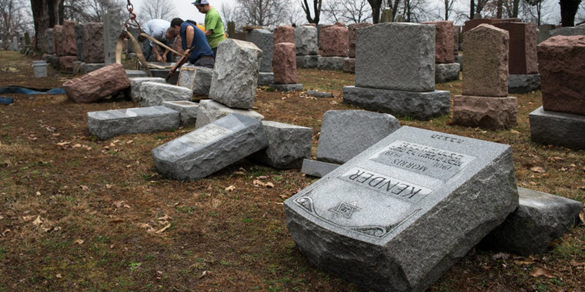 Muslim activists raised over $70,000 to repair damaged to a Jewish cemetery outside of St. Louis.