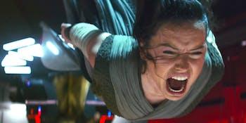Daisy Ridley as Rey in 'The Last Jedi'