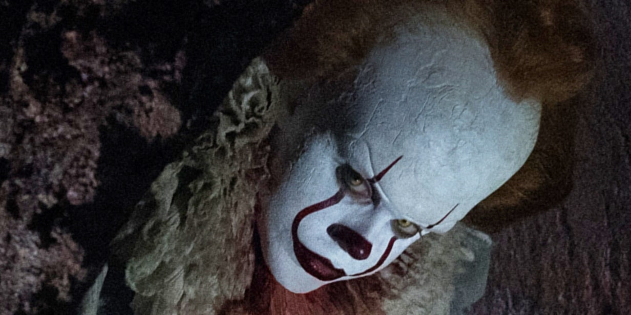 Wallpaper It Clown Bill Skarsgard Horror 2017 Hd: The 4 Most Insane Scenes In Stephen King's 'It' Novel