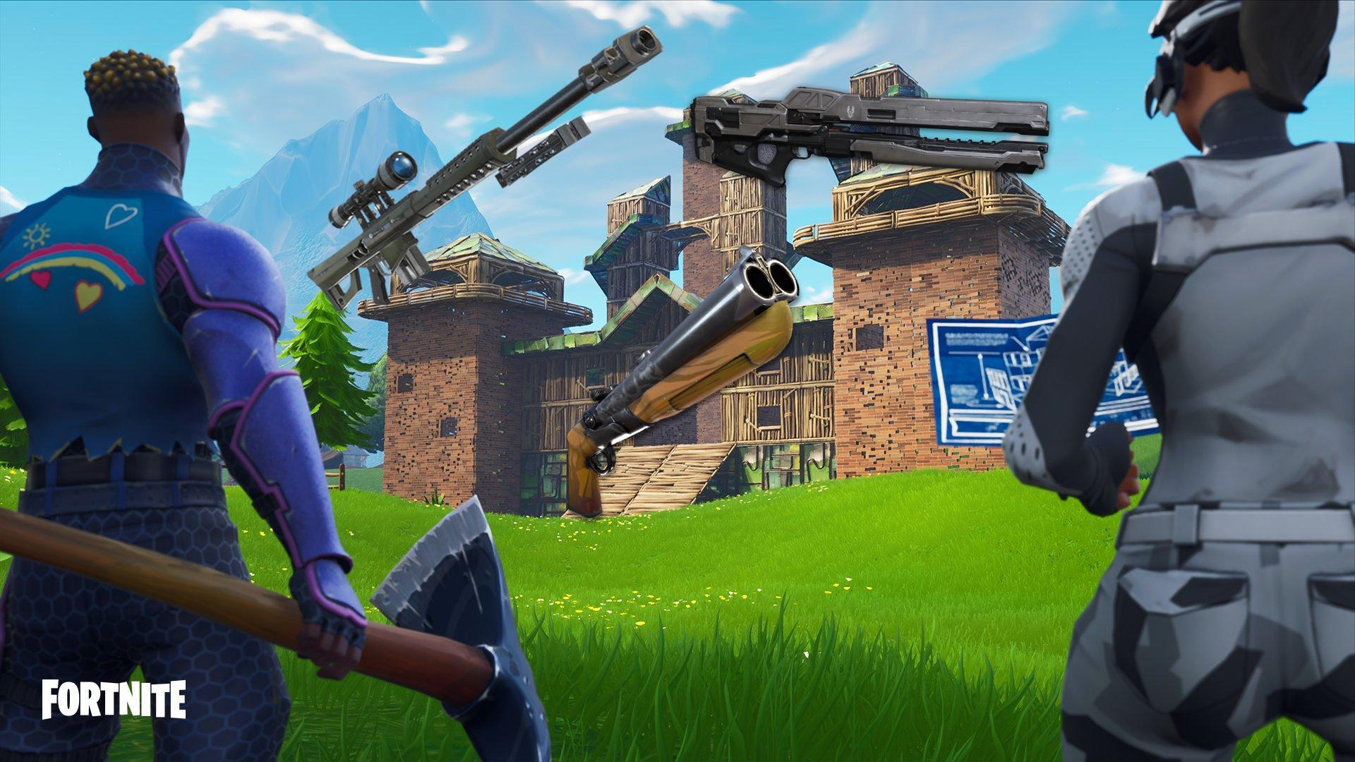 fortnite 5 2 update could have a break barrel shotgun and two new snipers but when are they coming - when is the next fortnite update coming out
