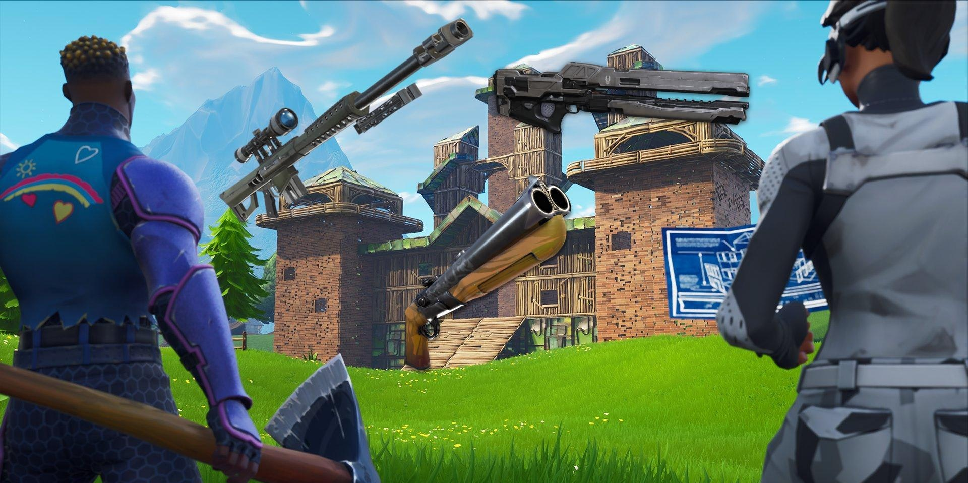 Fortnite 5 2 Update Double Barrel Shotgun Release Date Damage