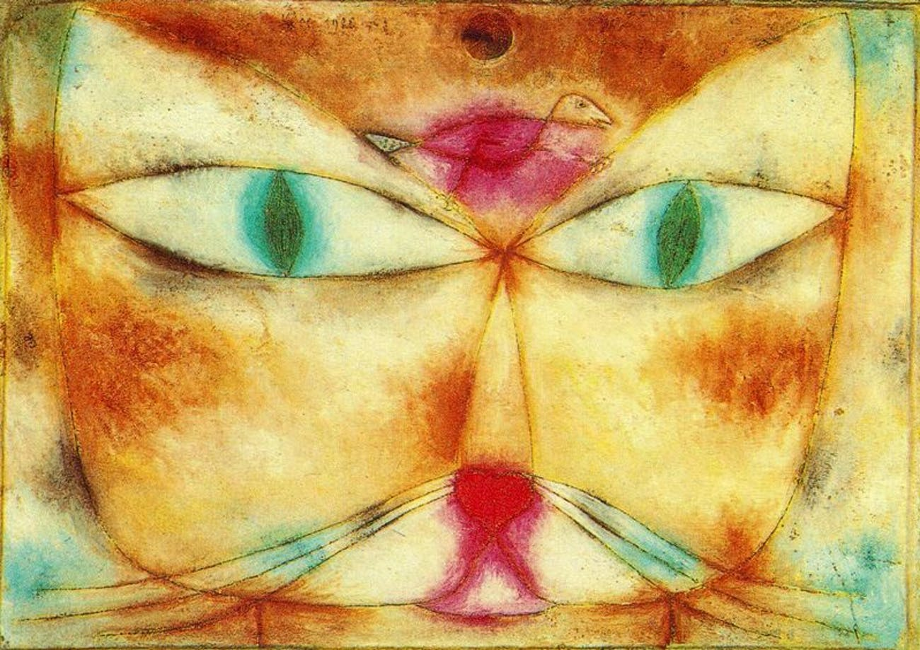 paul klee cat and bird