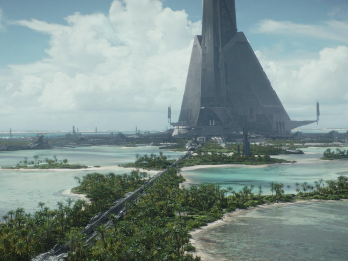 Why The Planet Scarif In Rogue One A Star Warsy Story