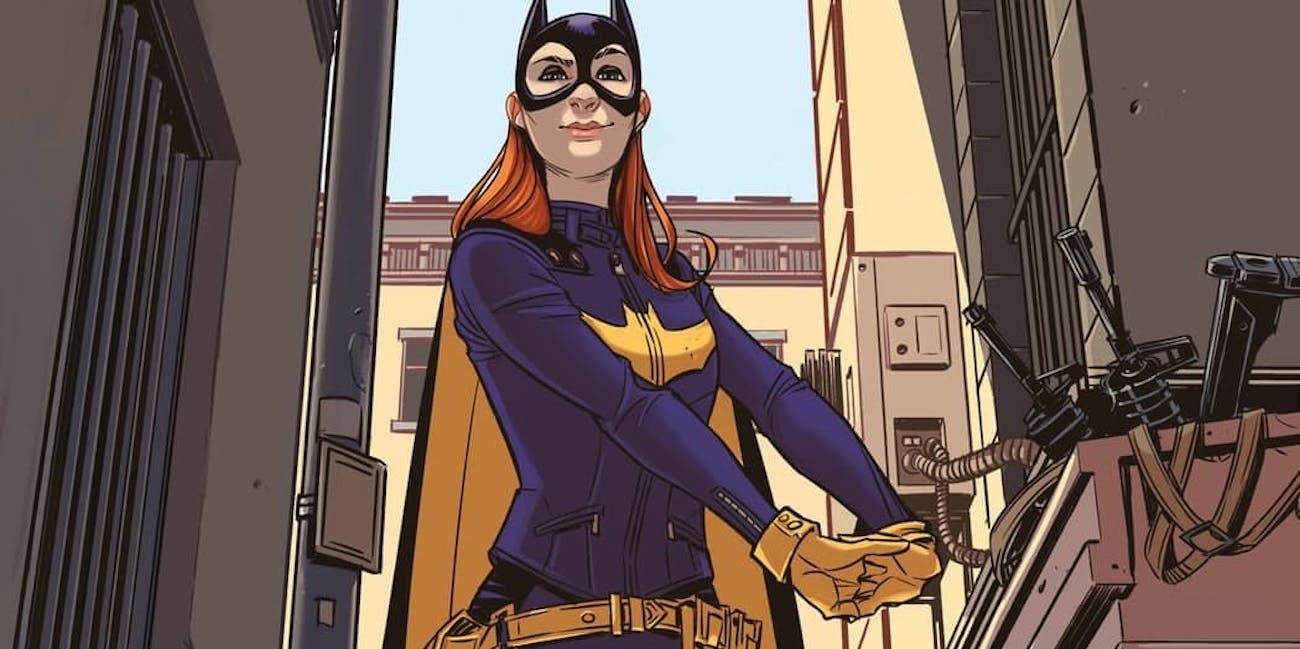 Batgirl art from Christian Wildgoose