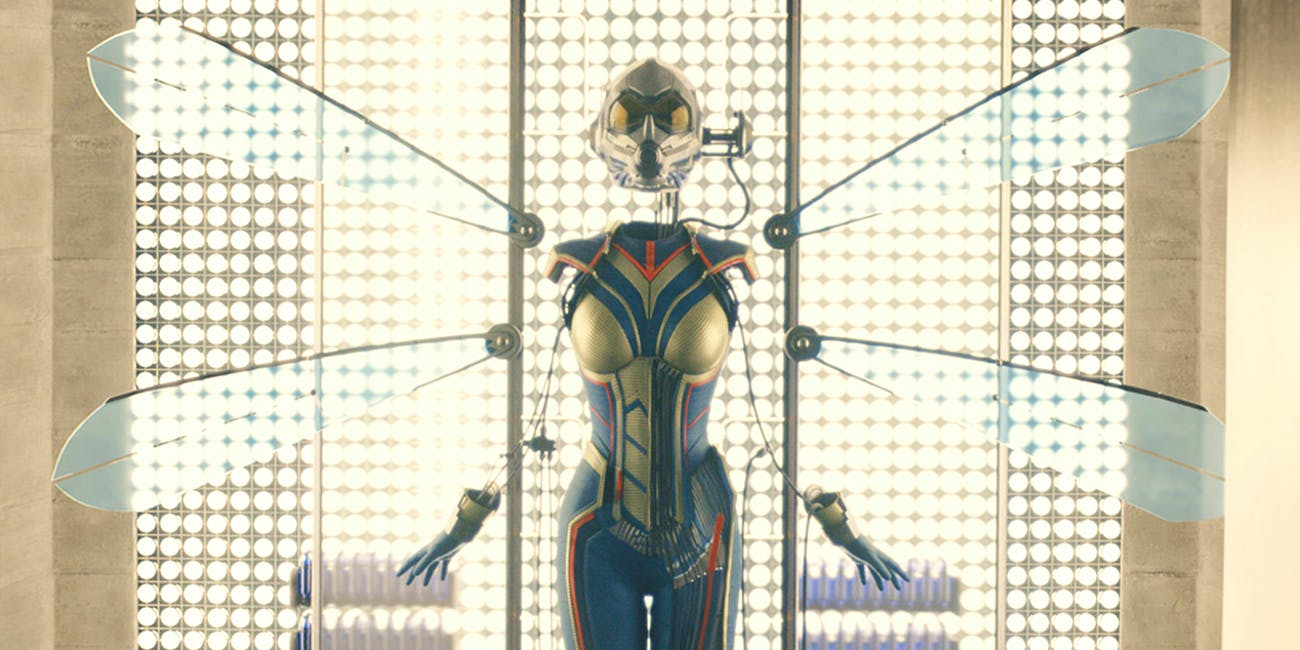 The Wasp in 'Ant-Man',