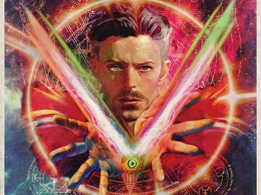 David Bowie Doctor Strange
