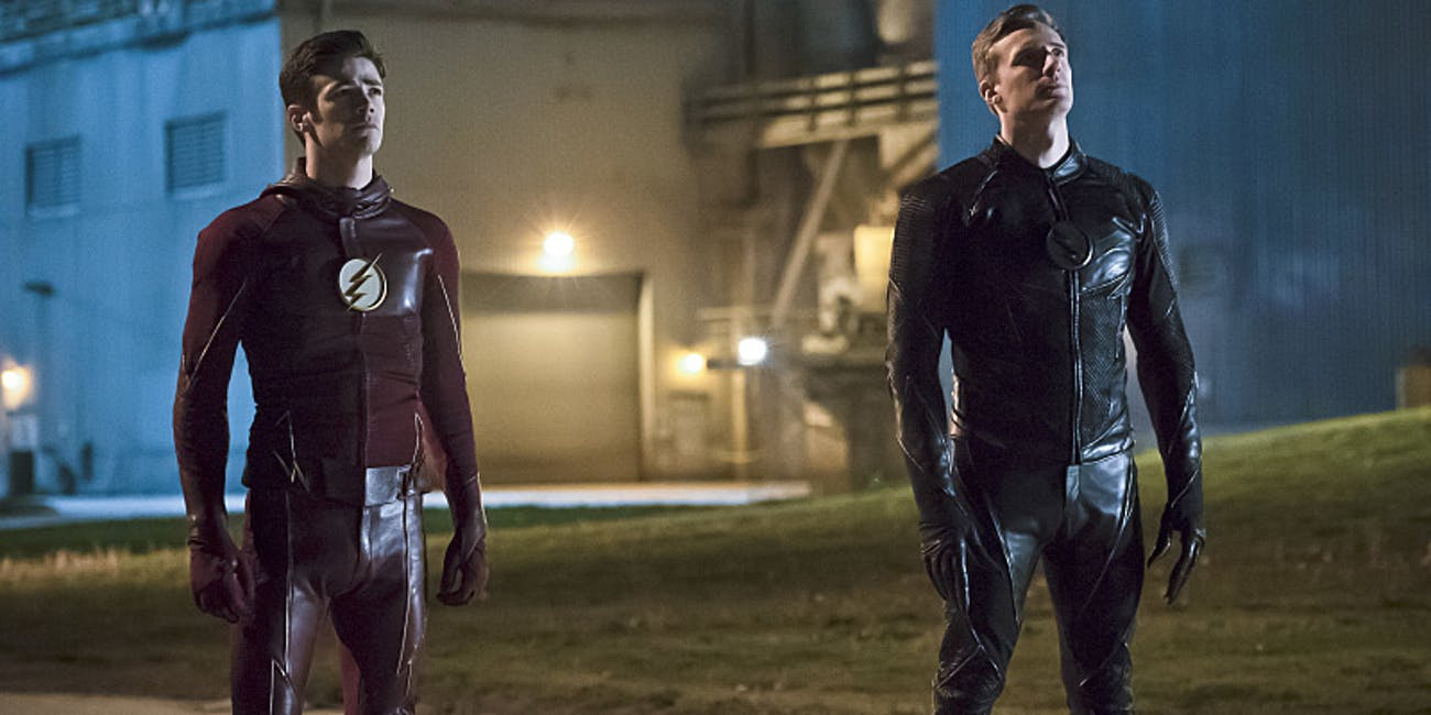 the flash season 2 finale is a race against zoom for the dc