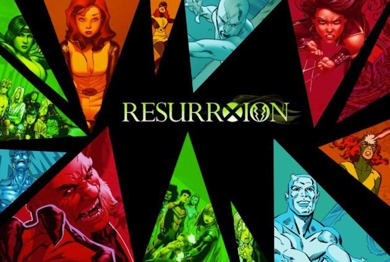 X-Men ResurrXion from Marvel Comics