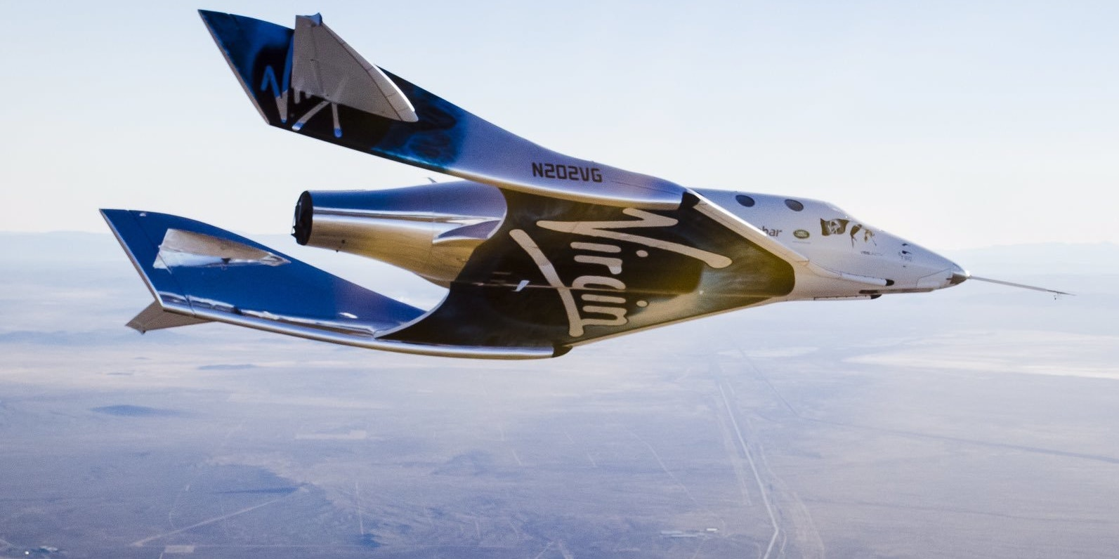 Virgin Galactic's SpaceShipTwo completed its first free flight.