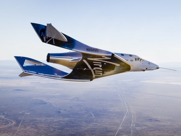 'SpaceShipTwo' Completes its First Successful Free-Flight