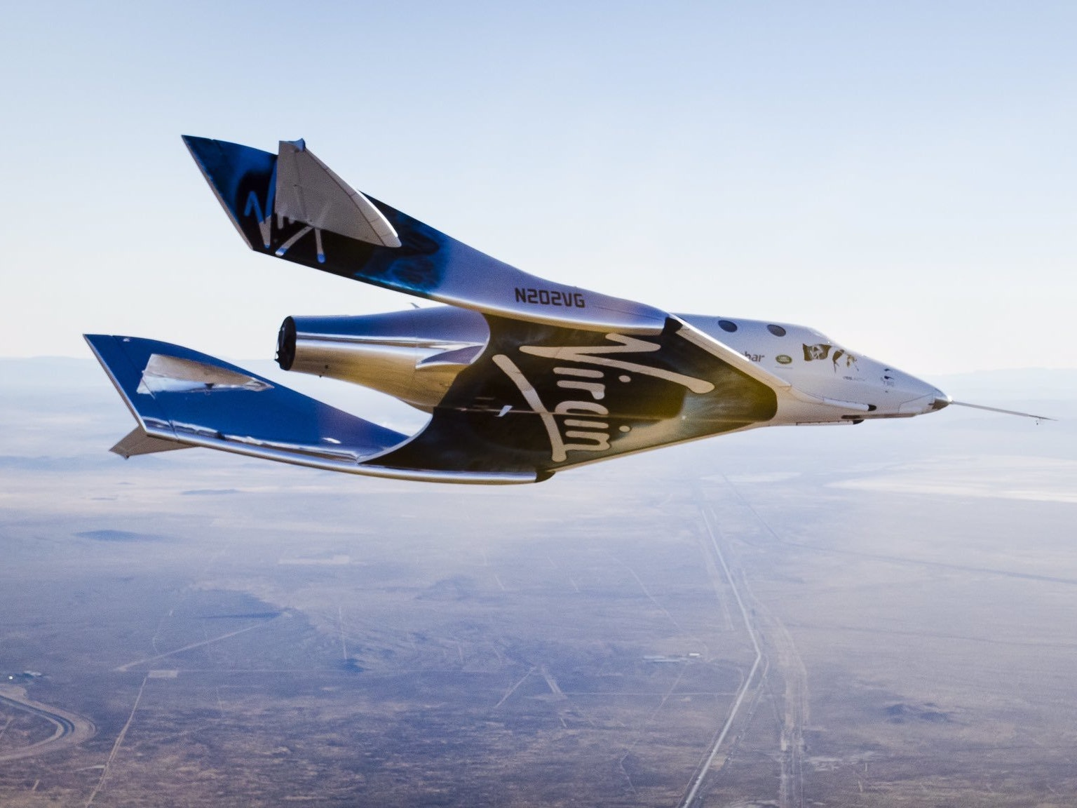 SpaceShipTwo Completes its First Successful Free-Flight