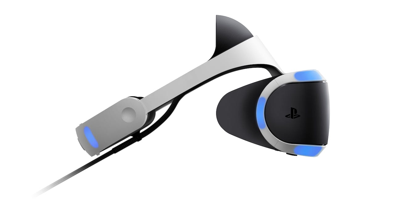 PlayStation VR version one.