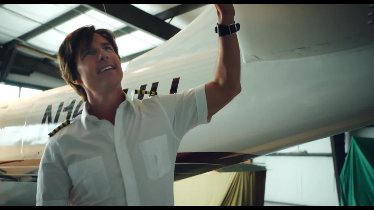 Tom Cruise and planes is always a good fit.