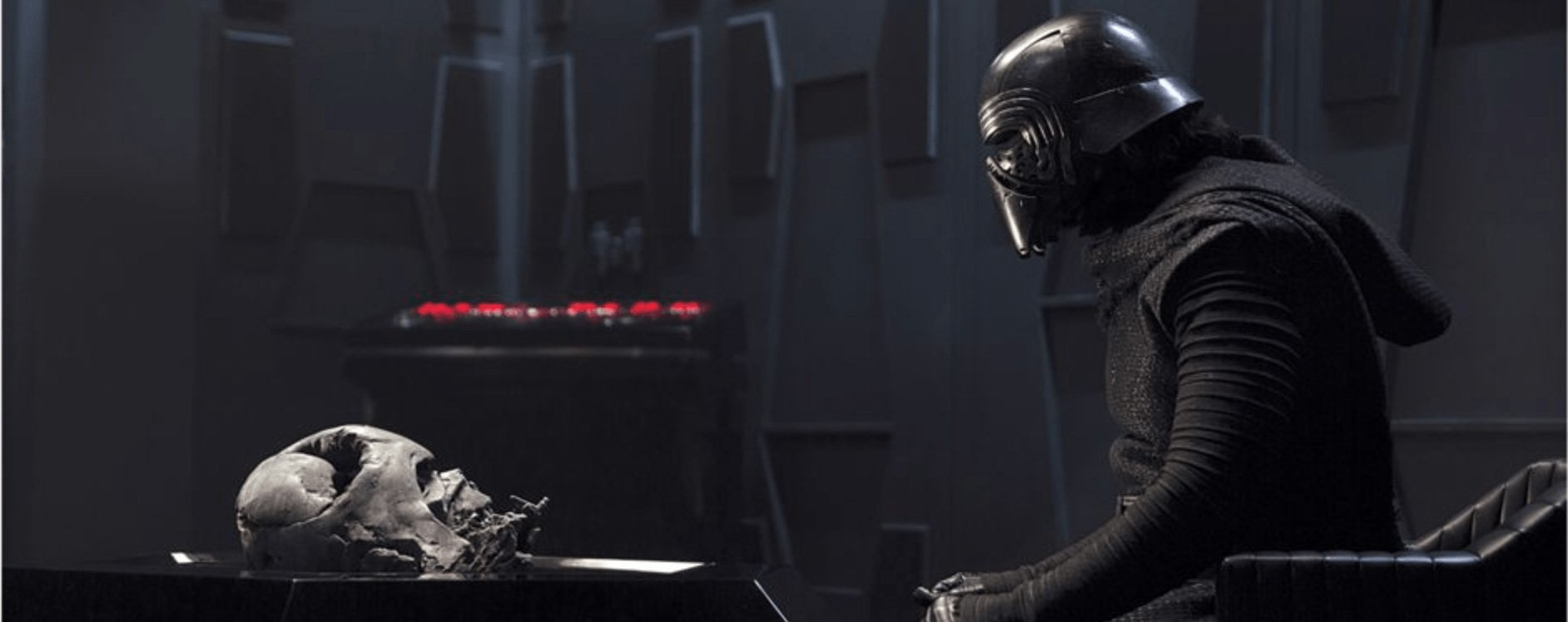 Alas poor Vader! I NEVER knew him, Hux, um...anyone who is listening.