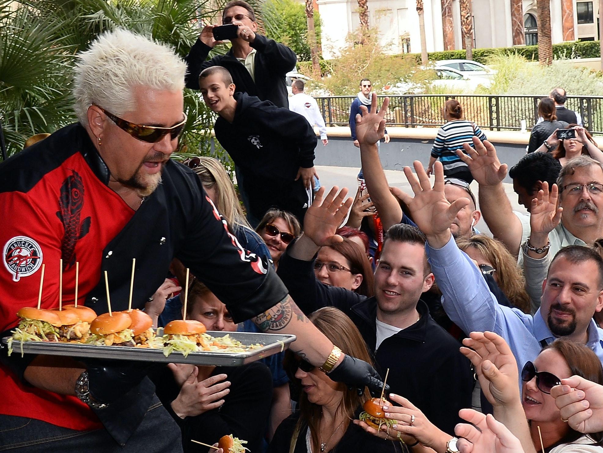 Guy Fieri's Culinary Populism Is No Joke