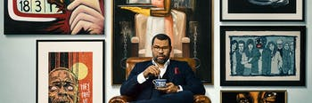 Jordan Peele is a huge fan of 'Get Out'-inspired art.