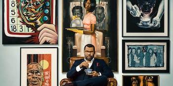 Jordan Peele is a huge fan of 'Get Out'-inspired art.