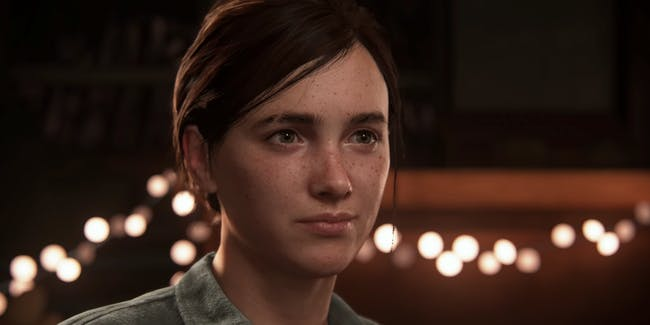 "Ellie from ""The Last of Us Part II"""