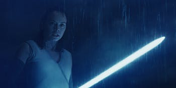Blue Rey will appear on the Blu-ray for 'Star Wars: The Last Jedi'.
