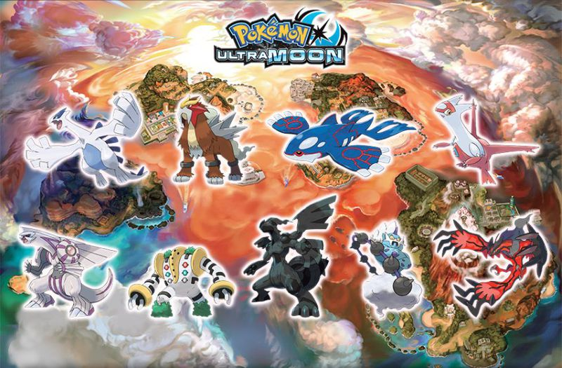 Pokémon Ultra Sun And Moon Will Let You Catch Every