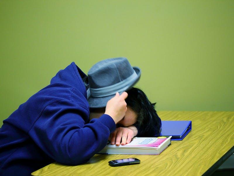sleep loss college