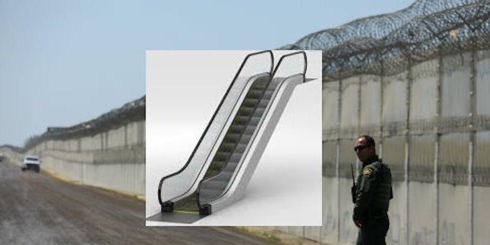 https://www.gofundme.com/build-a-giant-escalator-over-the-wall