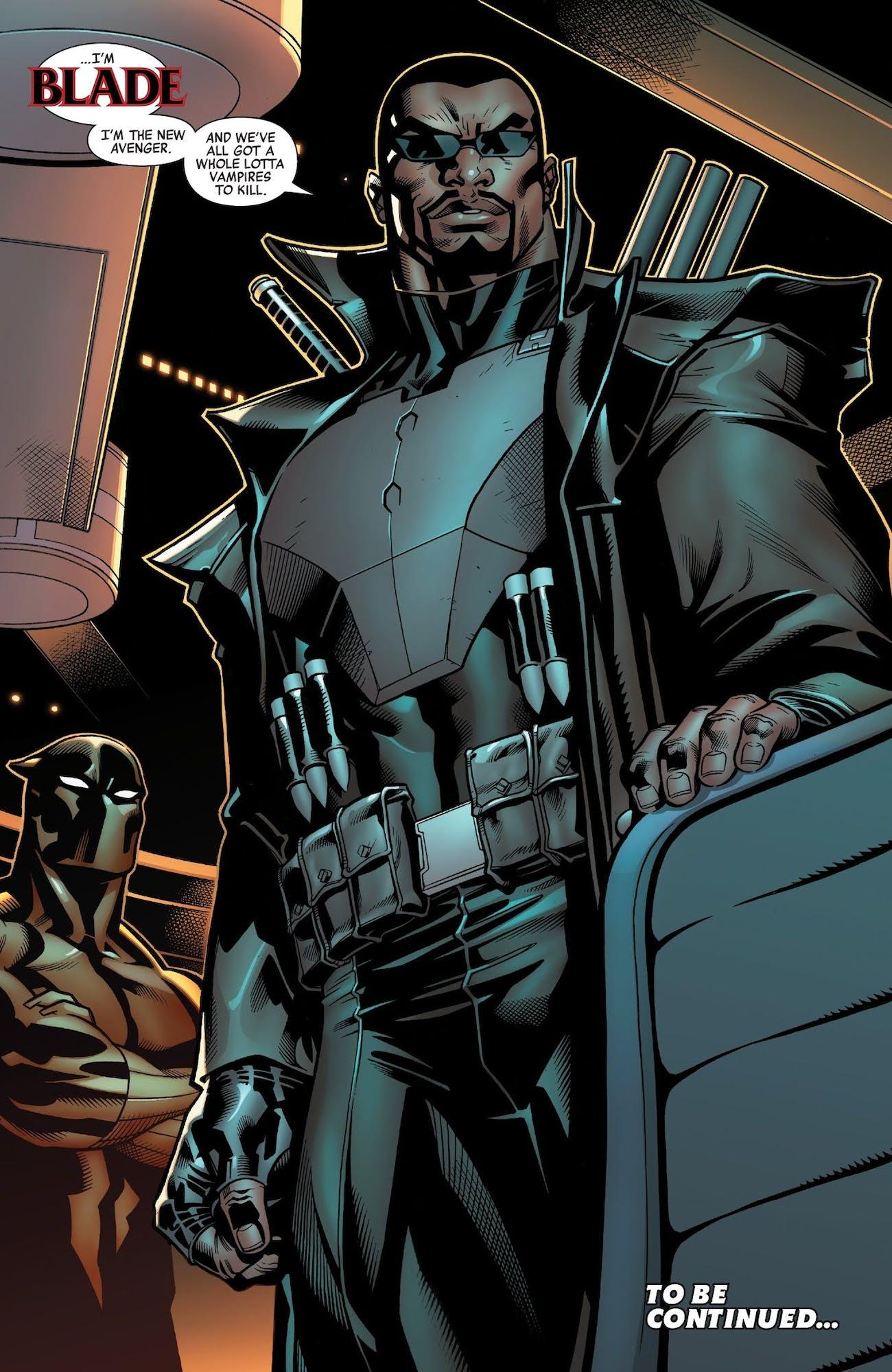 The Avengers Jason Aaron Black Panther Blade