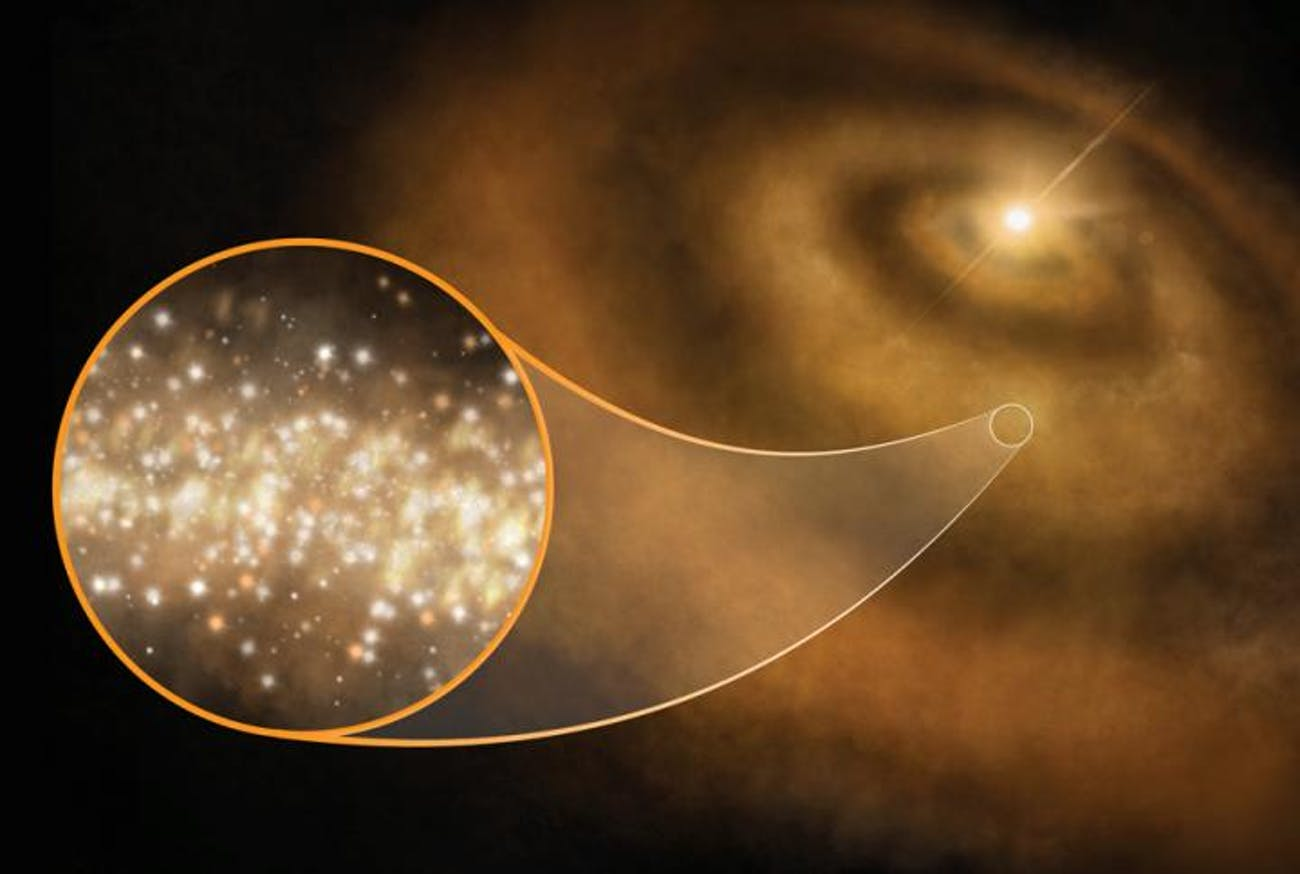 nanodiamonds protoplanetary disks