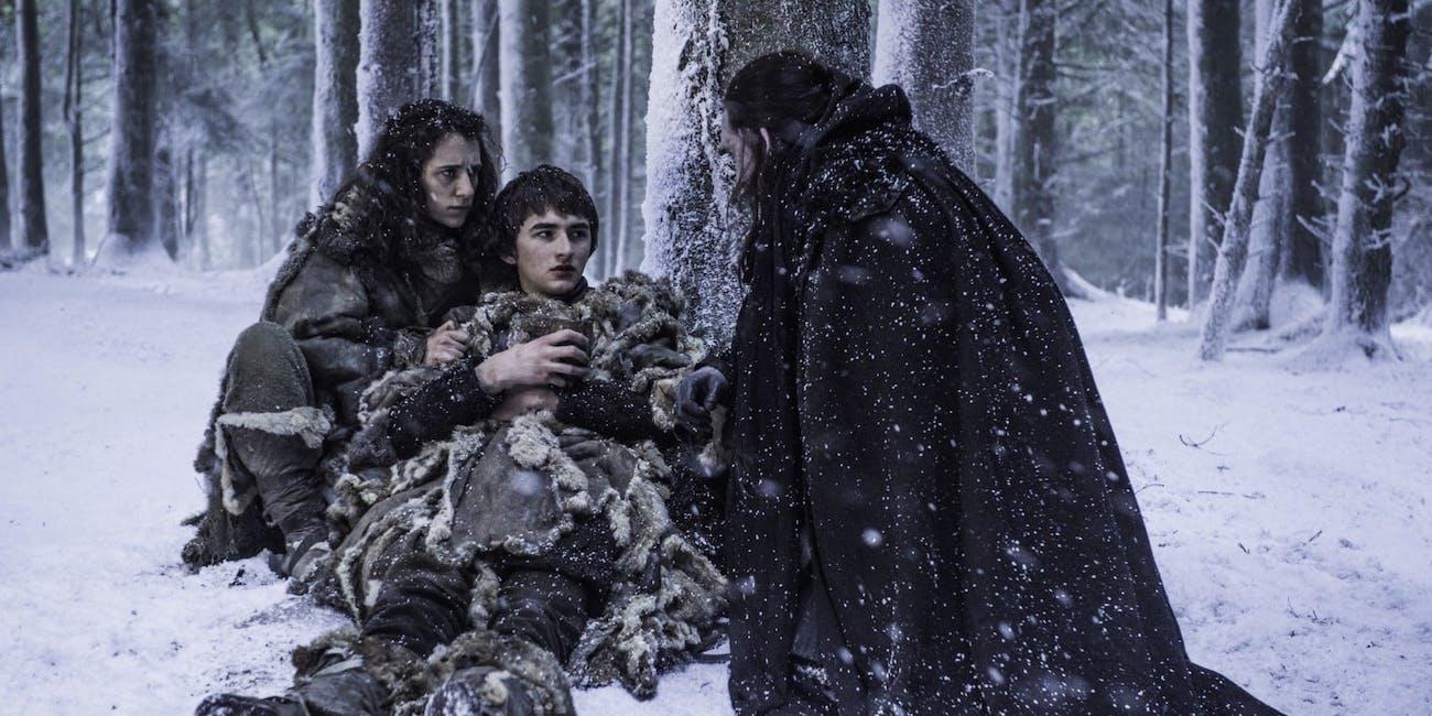 Game of Thrones Bran and Benjen