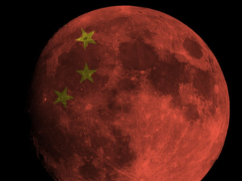 Image result for china artificial moon