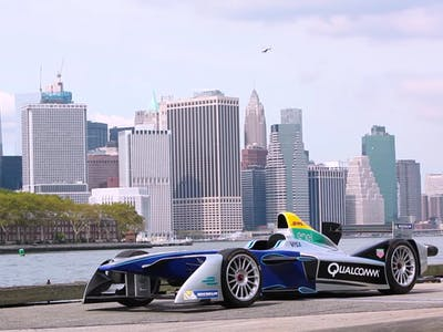 All-Electric Formula E Racing Is Coming to New York City Soon