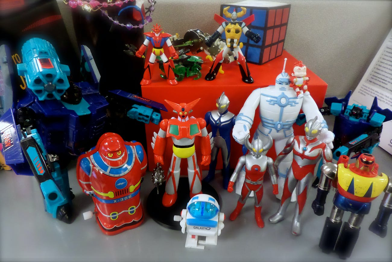 Robot toy collection