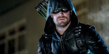 The CW Arrow Stephen Amell