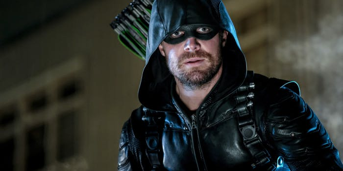 The CW Arrow Stephen Amell