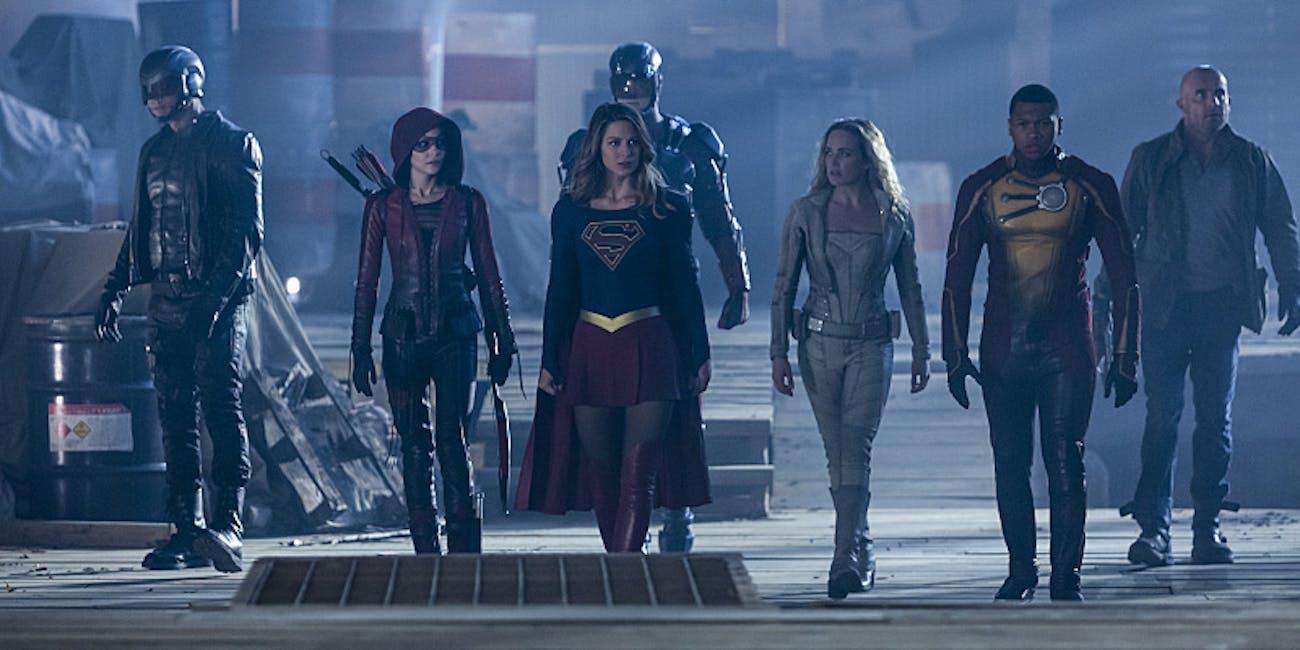 Arrow The Flash Supergirl