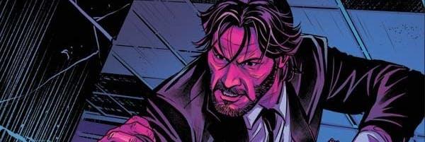 John Wick Comic Cover
