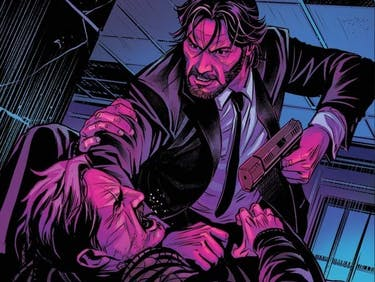 John Wick Comic Cover