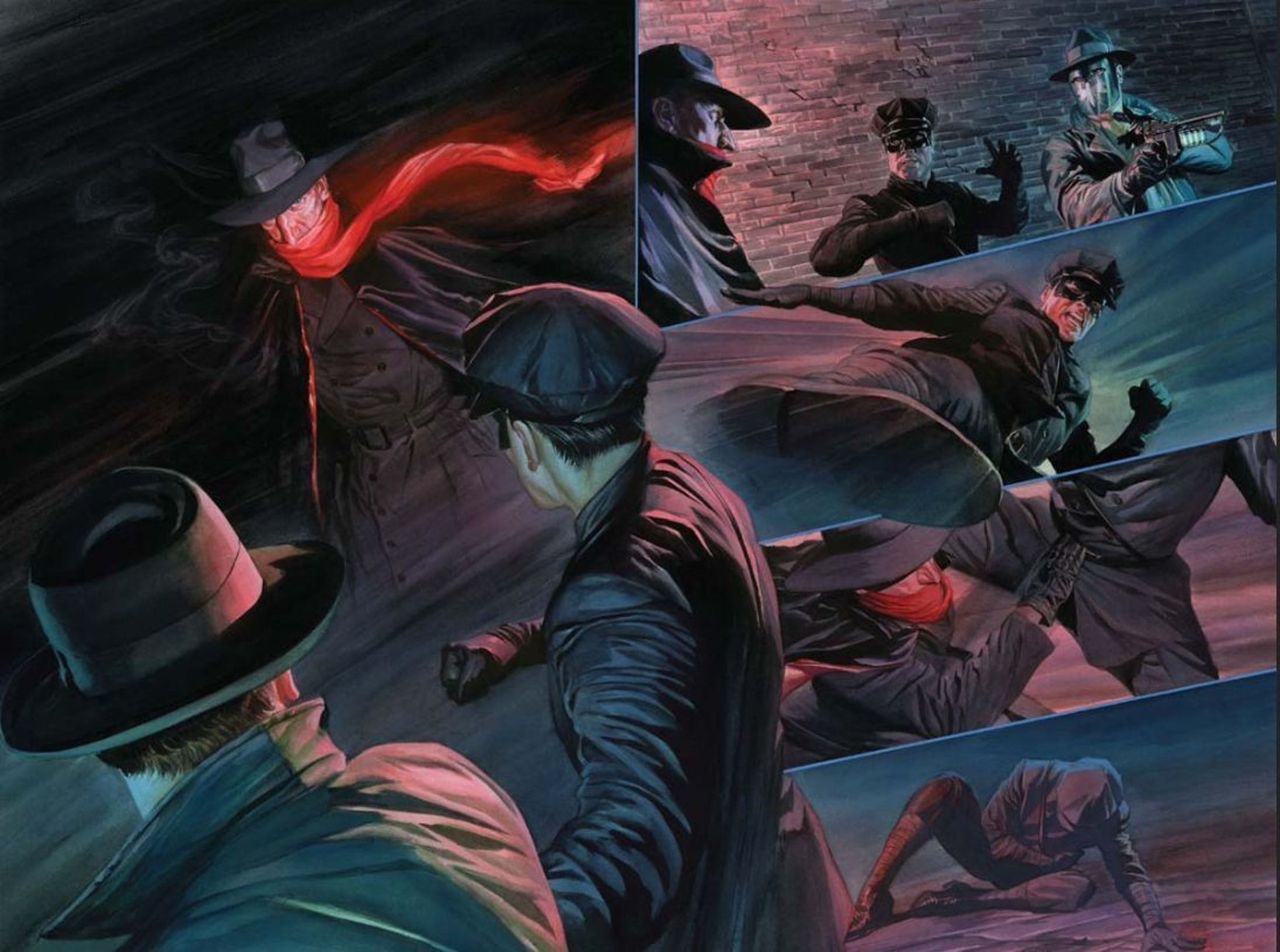 Alex Ross Green Hornet