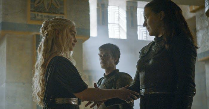 yara dany game of thrones lesbian