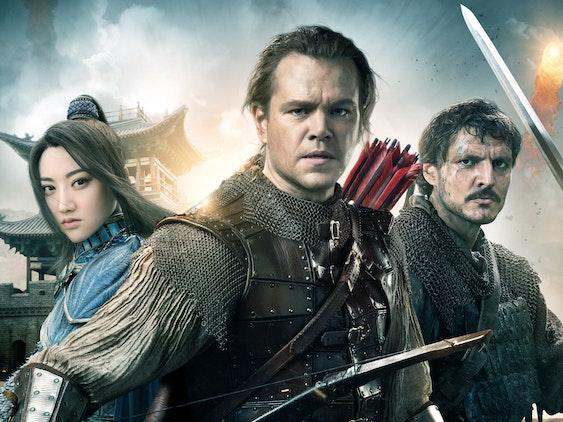 'The Great Wall' Matt Damon Zhang Yimou Jing Tian  Pedro Pascal