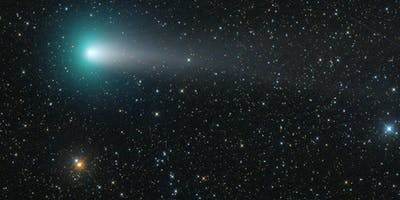 An artist's illustration of Comet 21P