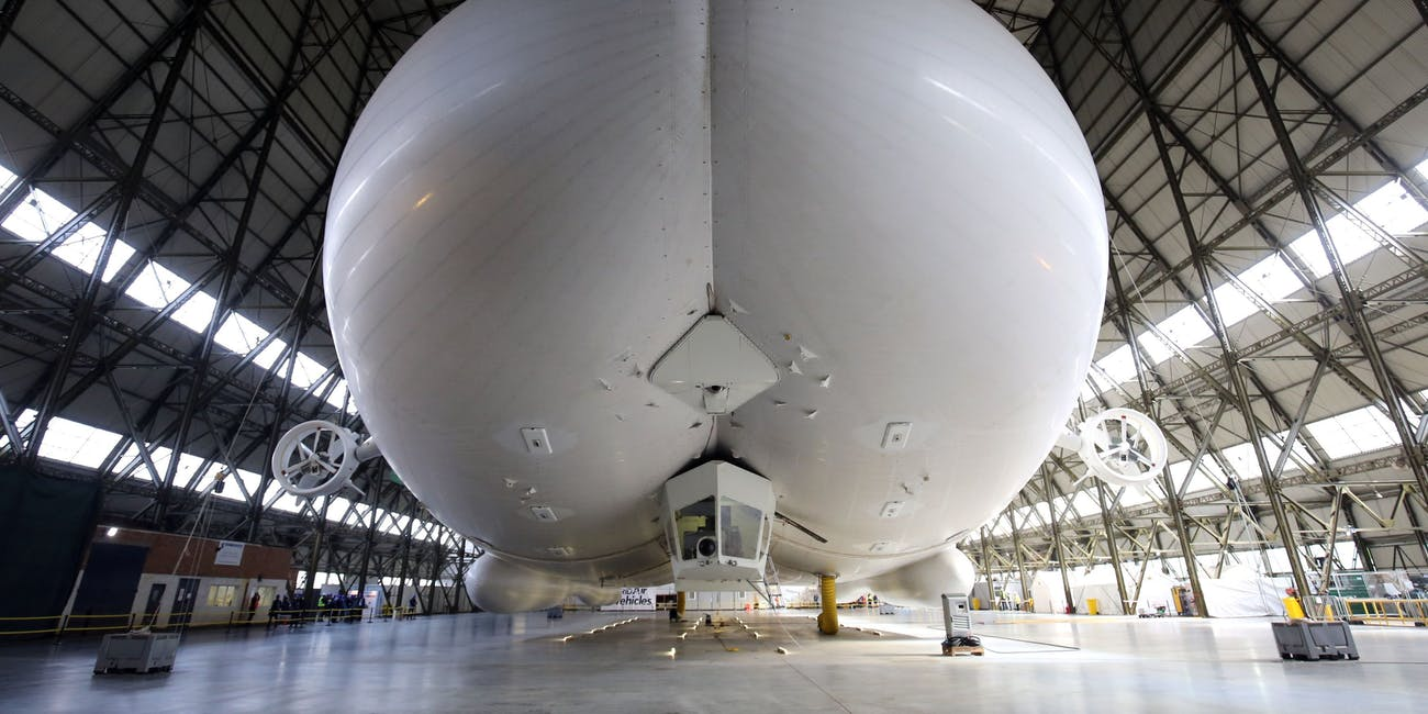 The Butt-Shaped Airlander 10 Takes Its Maiden Flight  Inverse