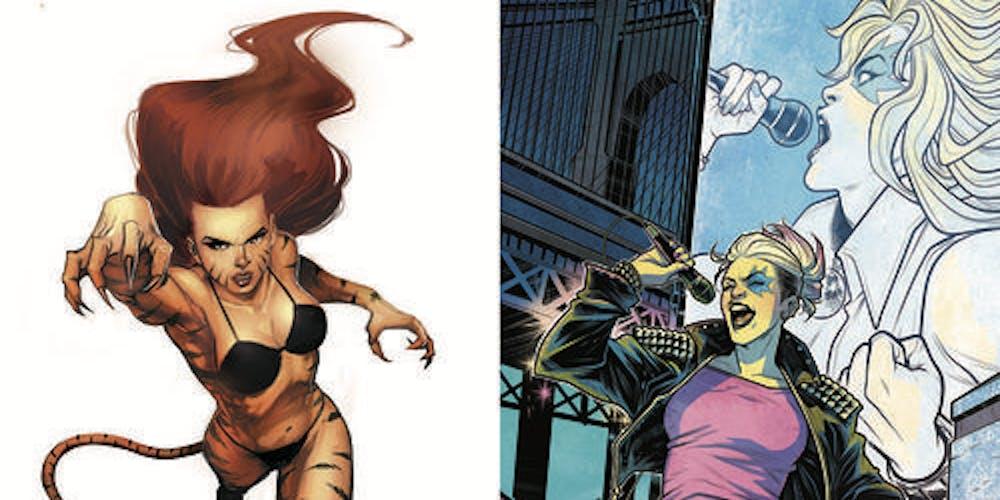 tigra dazzler marvel comics