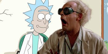 'Rick and Morty' Season 4 needs a 'Back to the Future' crossover.