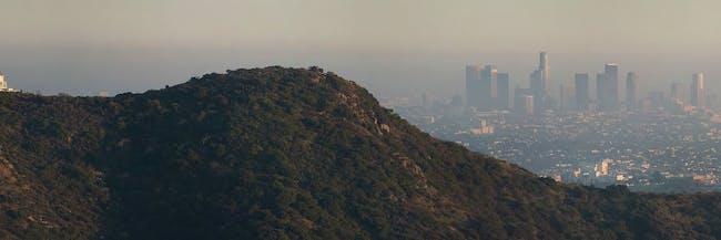 Los Angeles California air pollution smog