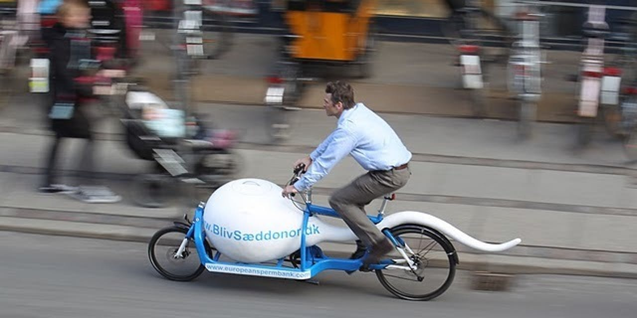 sperm bike man copenhagen