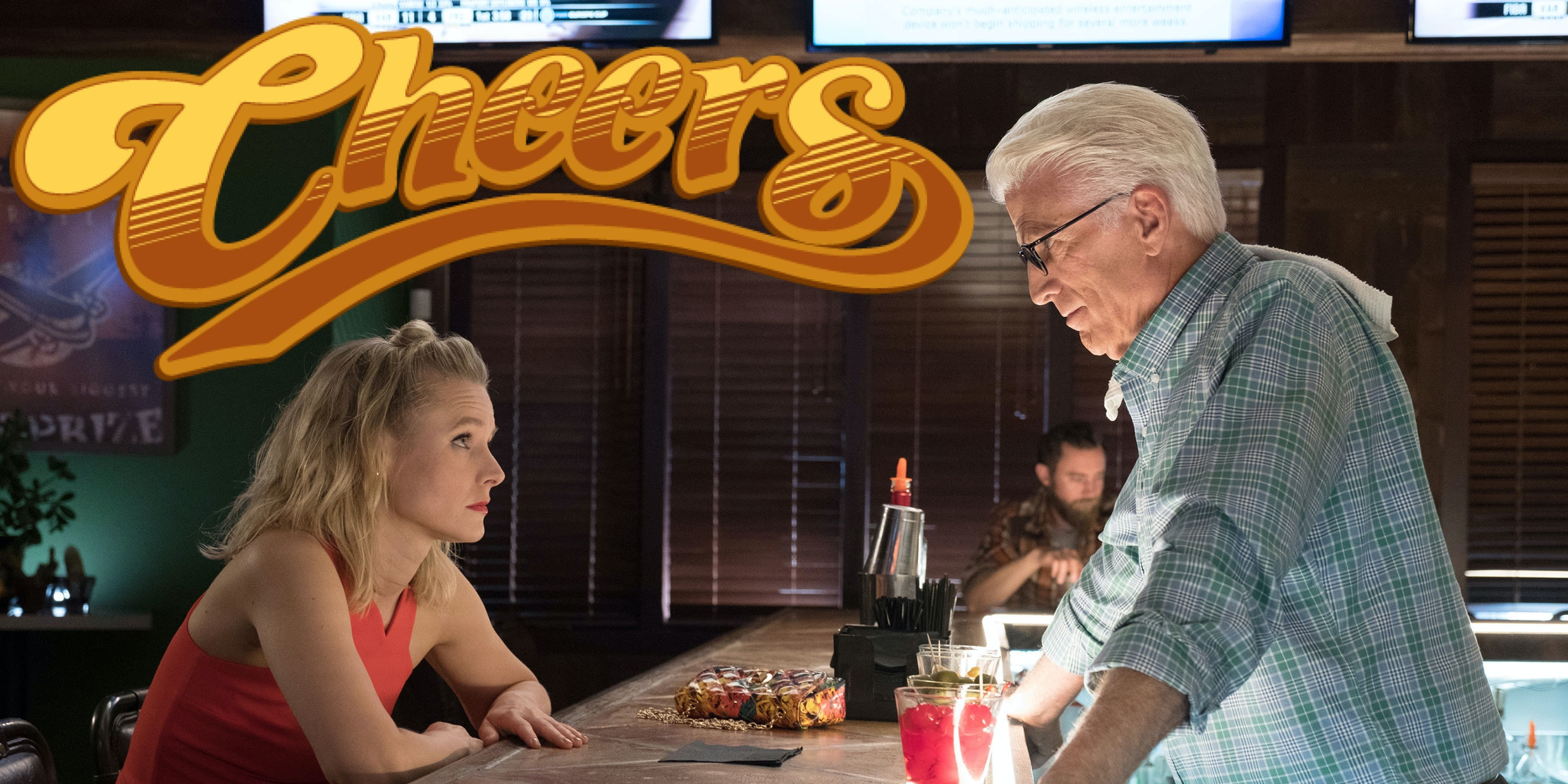 Theory: What if 'Cheers' Is the Good Place?