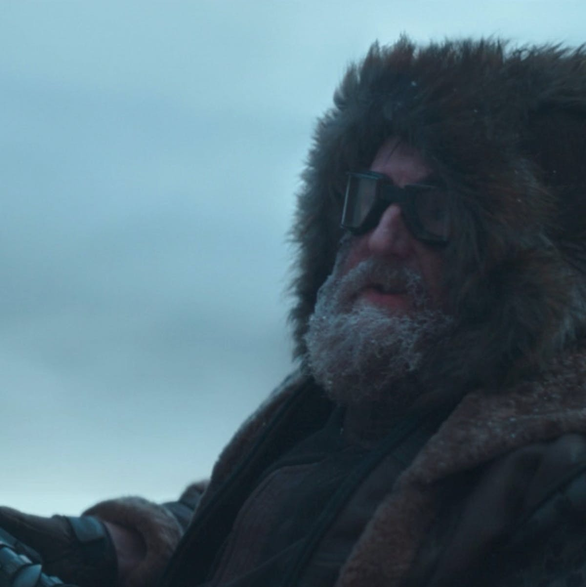 Yes, that is Brian Posehn from 'Sarah Silverman' in 'The Mandalorian'