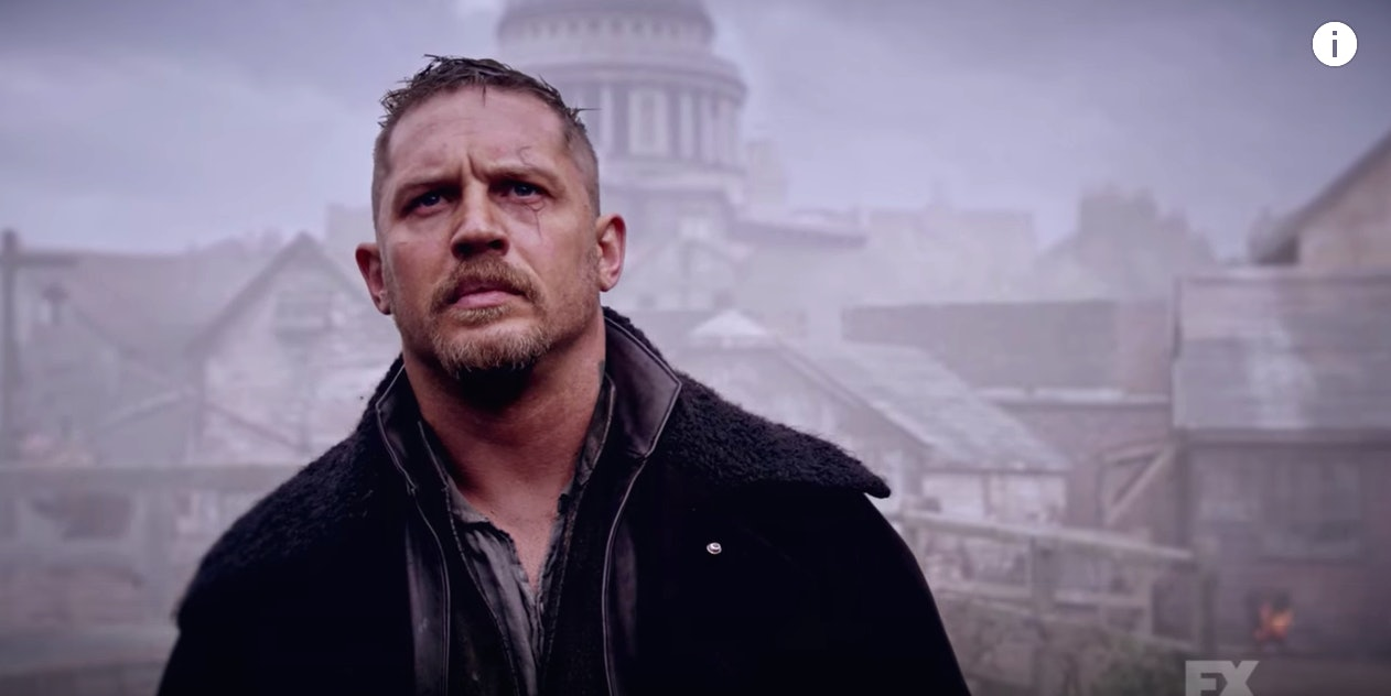 Tom Hardy in 'Taboo'