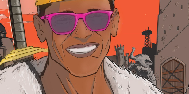 Barack the Barbarian cover